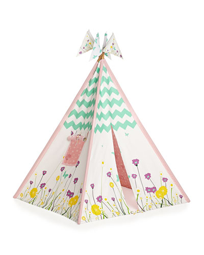 Girls' Canvas Play Tent