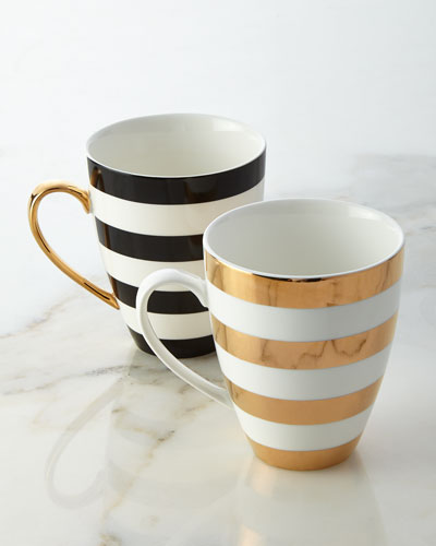 Gorgeous striped mugs