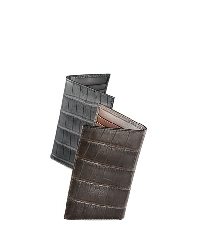 Alligator Bi-Fold Card Holder