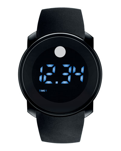 Bold Digital Touch-Screen Watch