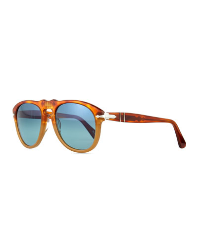 649-Series Sunglasses, Orange/Tortoise