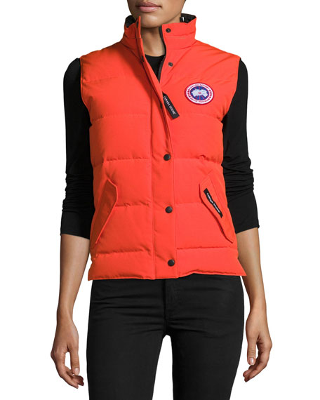 4d0fd51fb5a Canada Goose Freestyle Puffer Vest, Monarch Orange