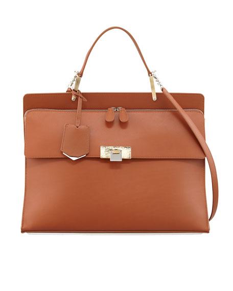 215d6e62d5ad Balenciaga Le Dix Cartable Zip Satchel Bag