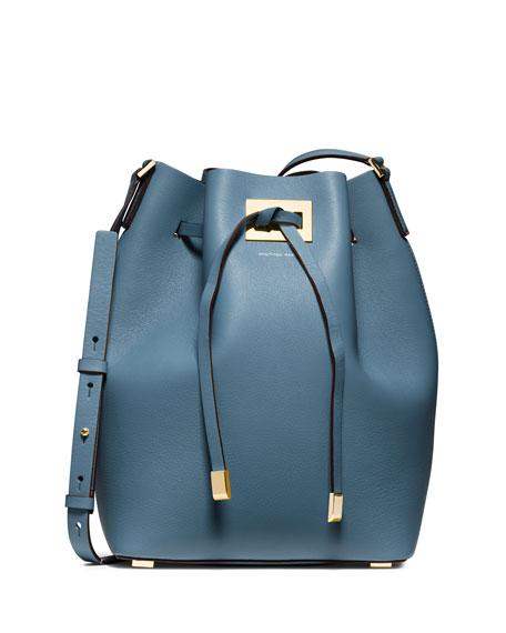 1f4bb33355 Michael Kors Collection Miranda Large Drawstring Bucket Bag