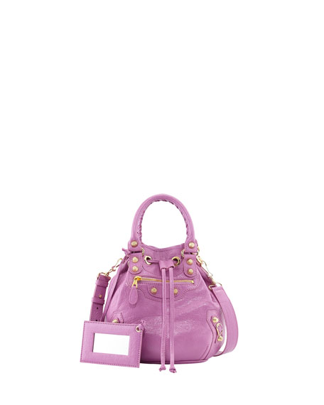 d84f67fffa Balenciaga Giant 12 Mini Pompon Bag