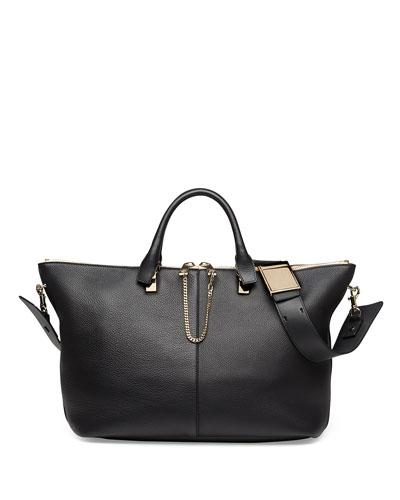 Baylee Medium Shoulder Bag, Black