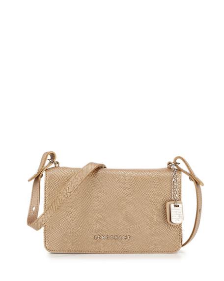 e36df49e13e0 longchamp le pliage small short handle longchamp leather travel bag ...