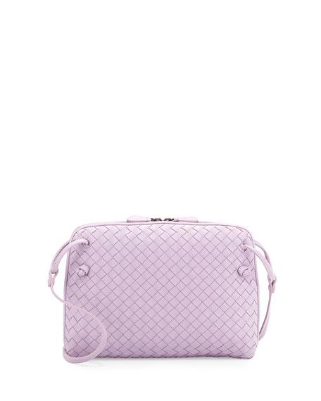 3f0341f730 Bottega Veneta Small Pillow Woven Crossbody Bag