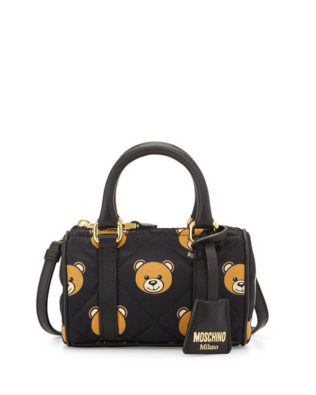 33f3f48f0b76 Moschino Mini Teddy Bear Shoulder Bag