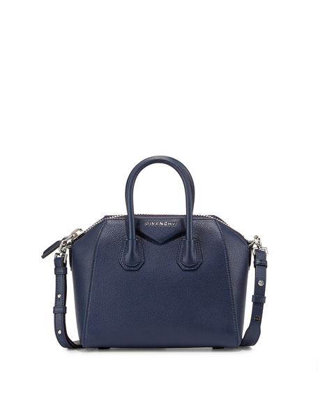 9c6ffe7e53b5 Givenchy Antigona Mini Leather Satchel Bag
