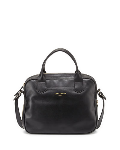 2.0 Leather Crossbody Bag, Black