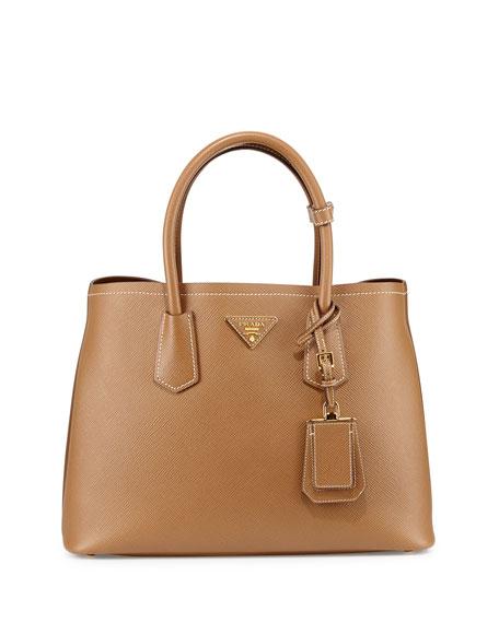 Prada Saffiano East-West Medium Tote Bag 559d90f91dda8