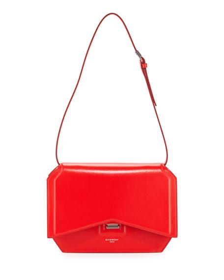 e27eb53c3c21 Givenchy Bow-Cut Leather Shoulder Bag