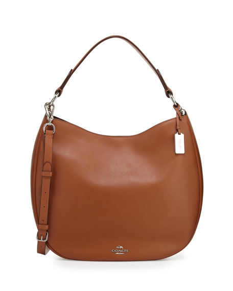 d4a27e48e4b Coach Nomad Leather Hobo Bag, Saddle