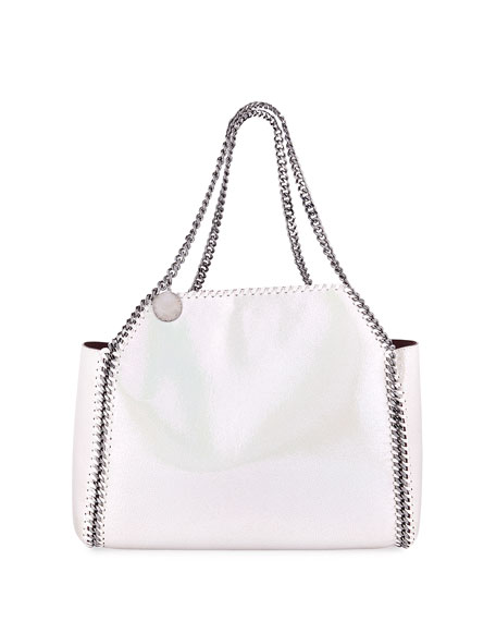Falabella mini faux-suede reversible tote bag Stella McCartney 3hwuLg