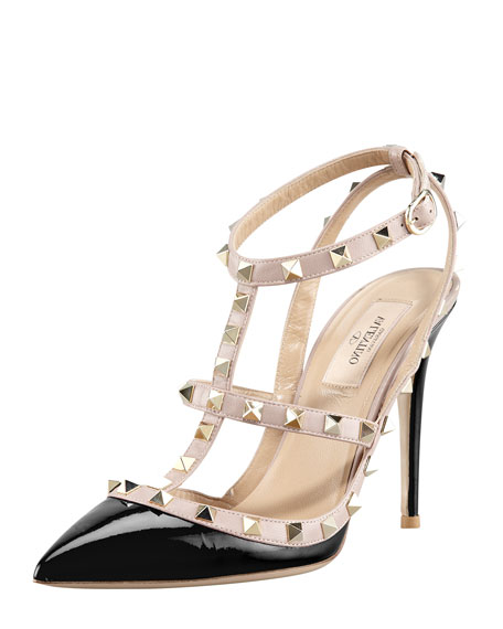 rockstud at are them noticeable strap s rock loose what moving the all when wore to here is slightly you not shoes and endeavors heels around my they valentino week i superficial work wear stud last