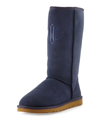 Classic Tall Boot, Navy