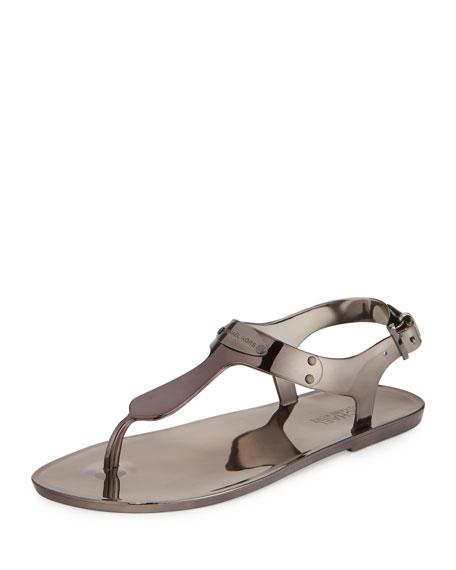 8cb5f746ec6 MICHAEL Michael Kors MK Plate Jelly Sandal