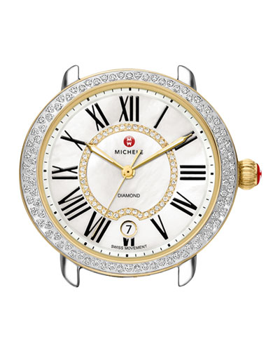 16mm Serein Diamond Watch Head, Two-Tone