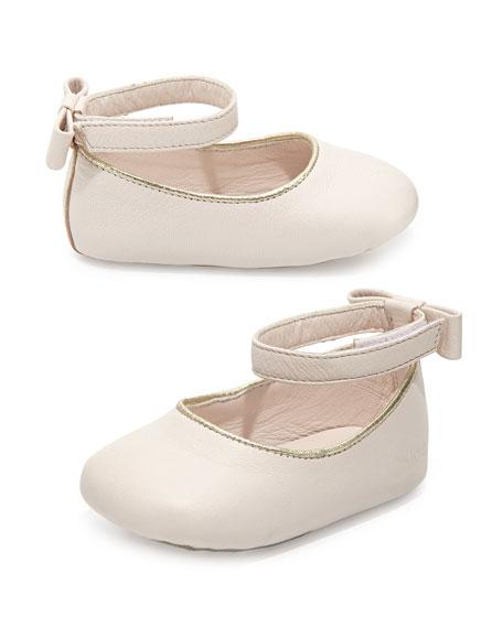 a1b473b18b276d Chloe Baby Leather Ballet Flats