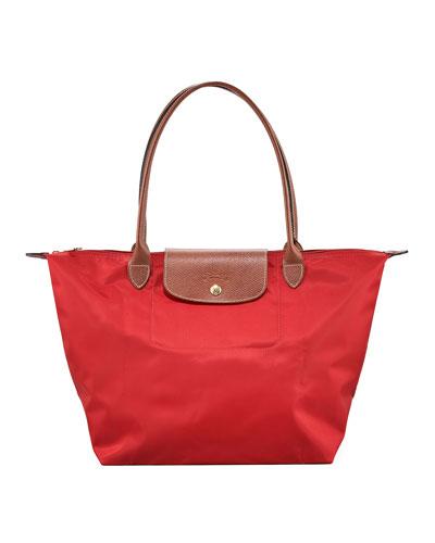 Longchamp Le Pliage Large Shoulder Tote Bag Classic Colors 9