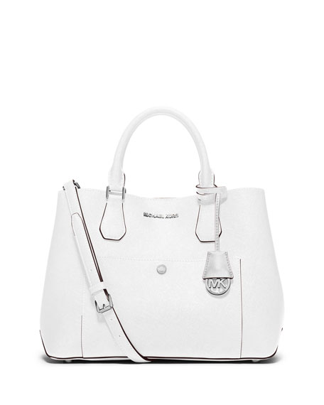 833a6977eed6 MICHAEL Michael Kors Greenwich Large Leather Tote Bag