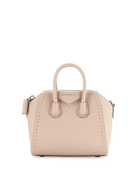 cb54f67910d6 Givenchy Antigona Mini Studs Couture Satchel Bag