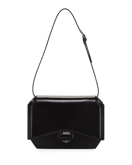 ee91e8f244 Givenchy Bow-Cut Leather Shoulder Bag