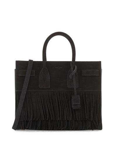 Mixed-media Fringe Charm For Handbag, Black Multi