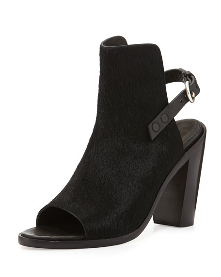 Rag & Bone Slingback Peep-Toe Booties discount 100% authentic real for sale pay with visa cheap price xUIqY8Cdd