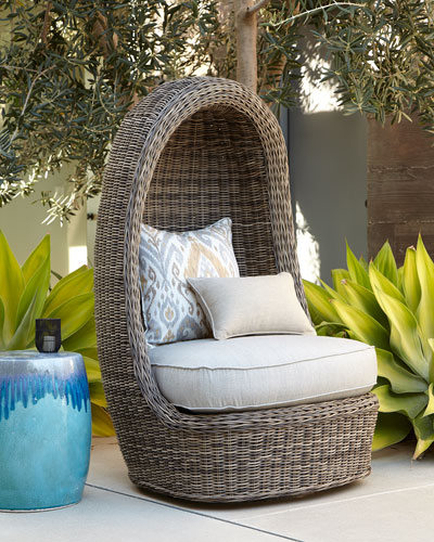 Madison Vesper Fog Swivel Lounge Chair