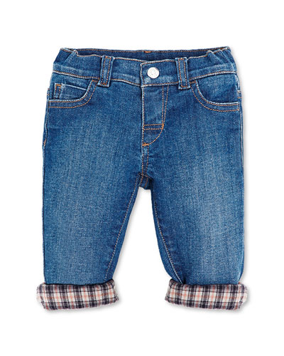 Jeans with Flannel Lining, 0-36 Months