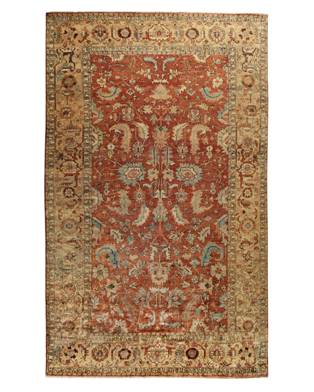 Exquisite Rugs Thompson Oushak Rug 6 X 9