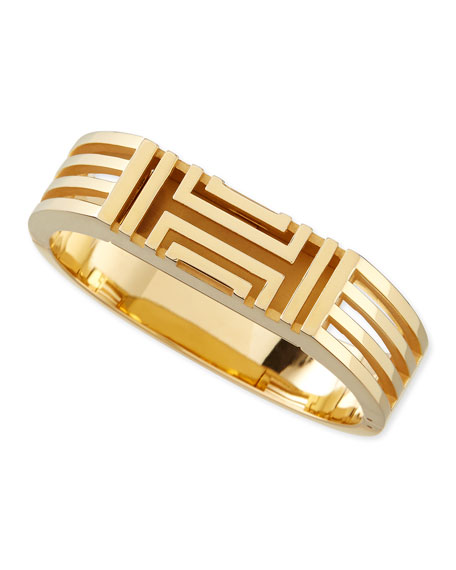 92abaa099a3 Tory Burch Gold-Plated Fitbit-Case Bracelet