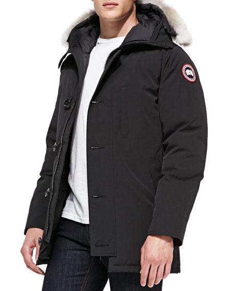 89bb5cdbbb6 Chateau Arctic-Tech Parka with Fur Hood Black