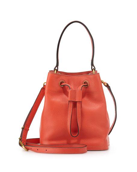 Tory Burch Mini Leather Bucket Bag