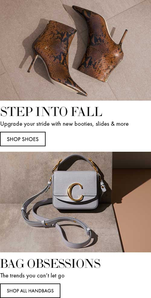 Step Into Fall - Upgrade your stride with new booties, slides & more