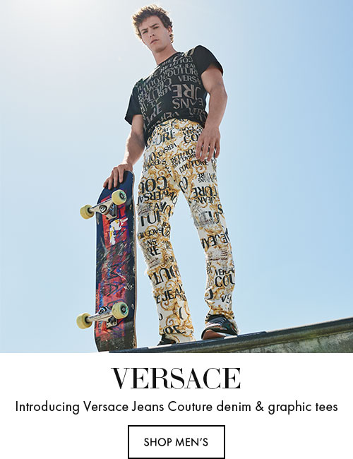 Versace - Introducing Versace Jeans Couture denim & graphic tees