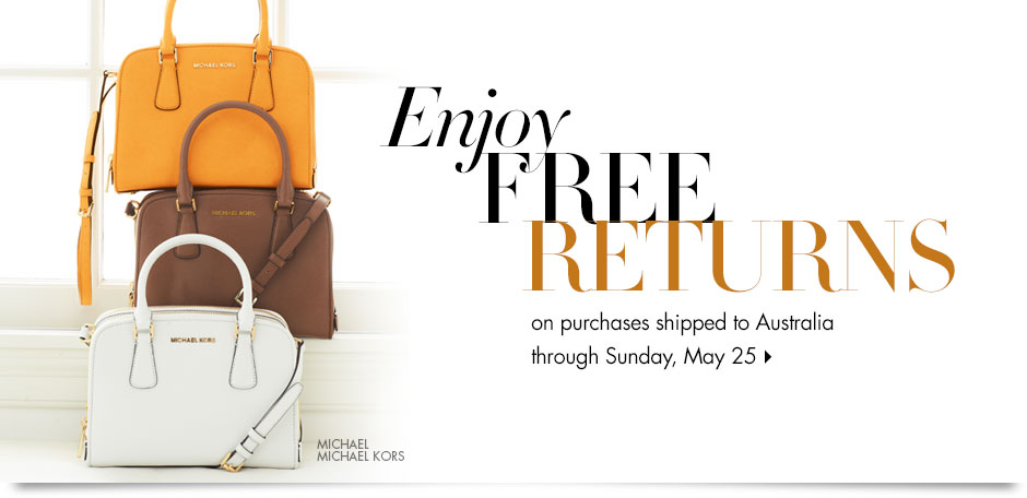 Free Returns for All Orders Shipping to Australia @ NeimanMarcus.com
