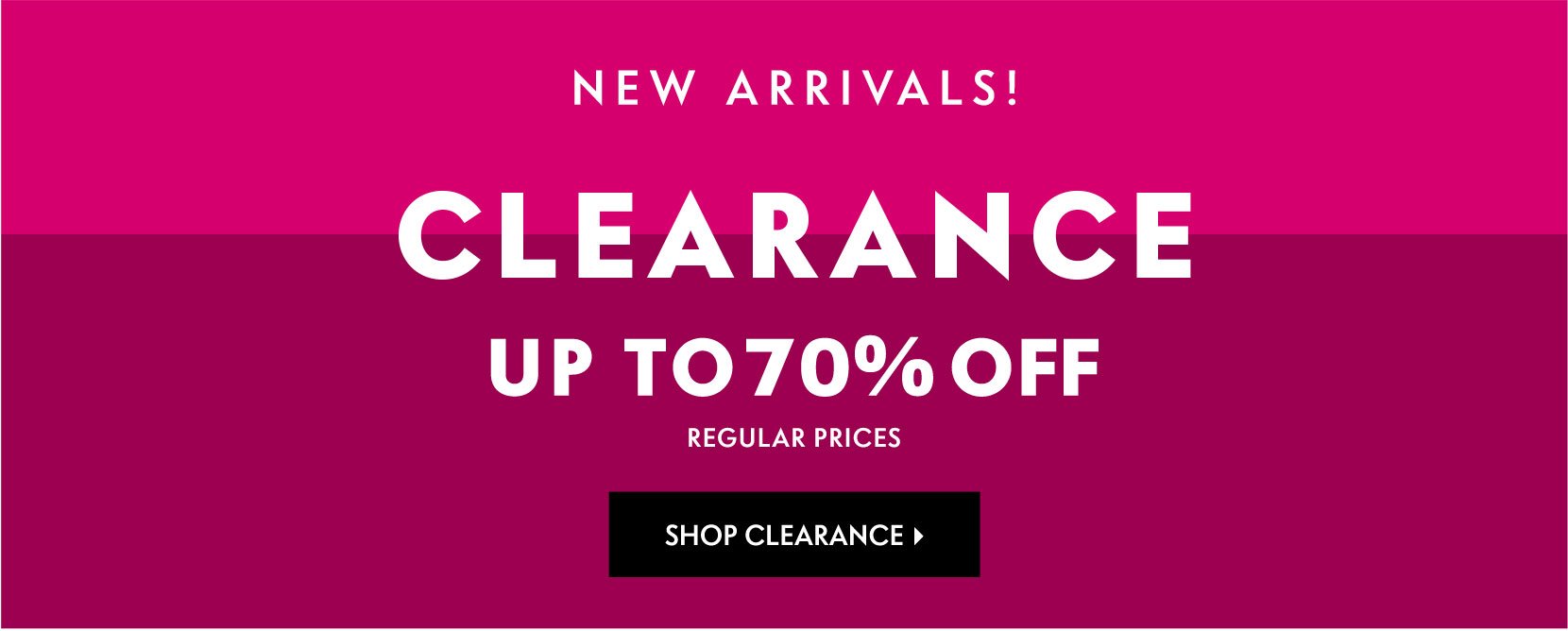 Online Clearance Launch