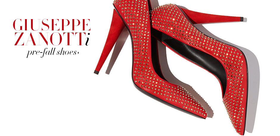 Pre-Fall Shoes: Featuring Giuseppe Zanotti