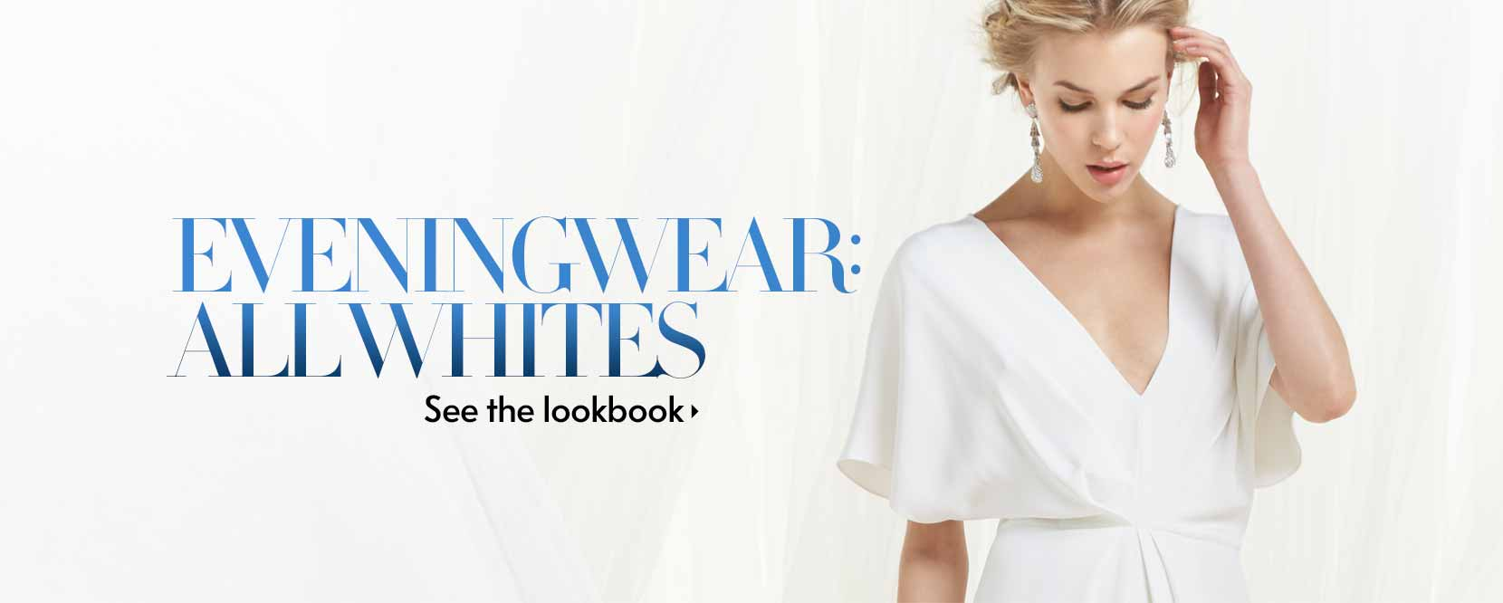 Eveningwear: All Whites