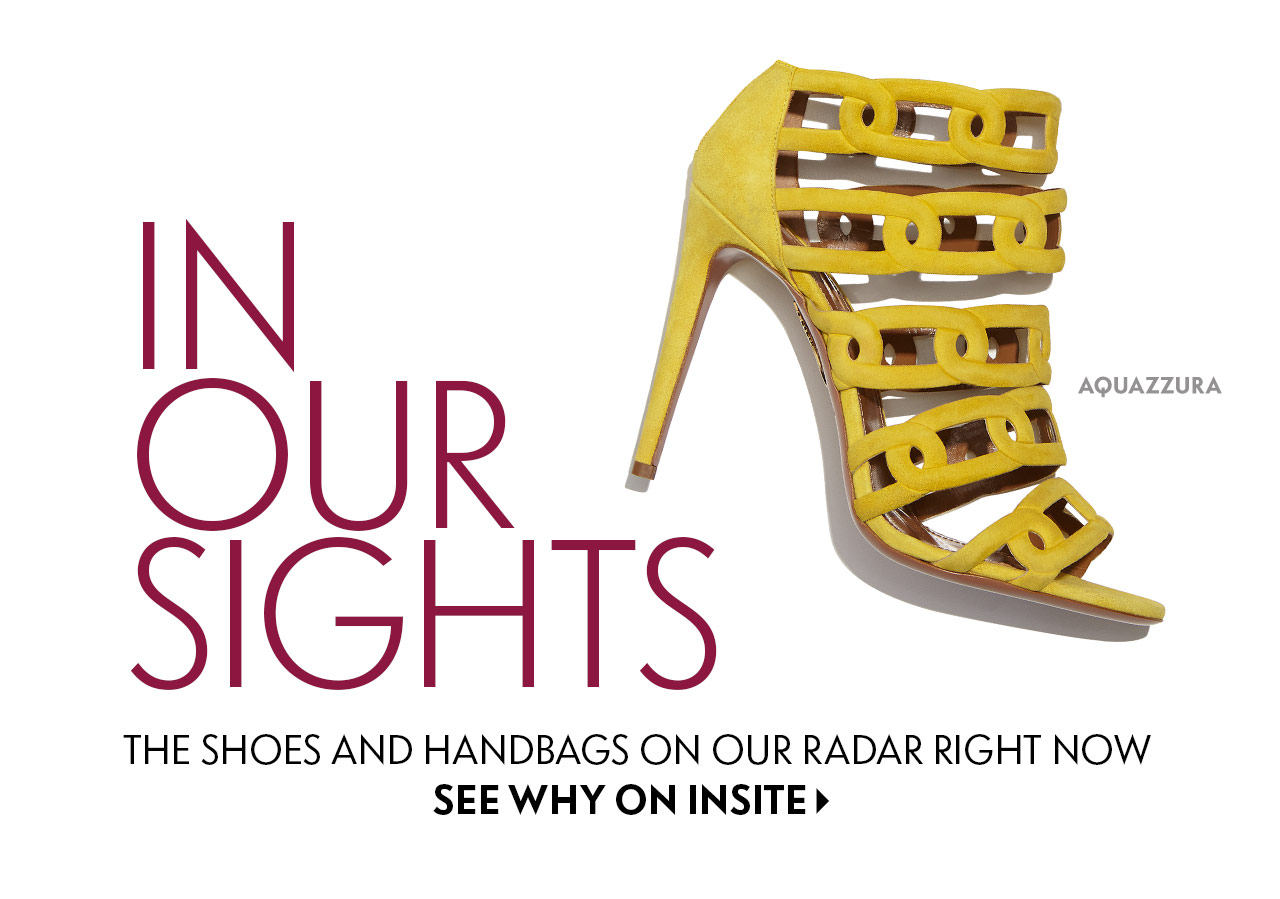 InSite: In Our Sights Shoes and Handbags