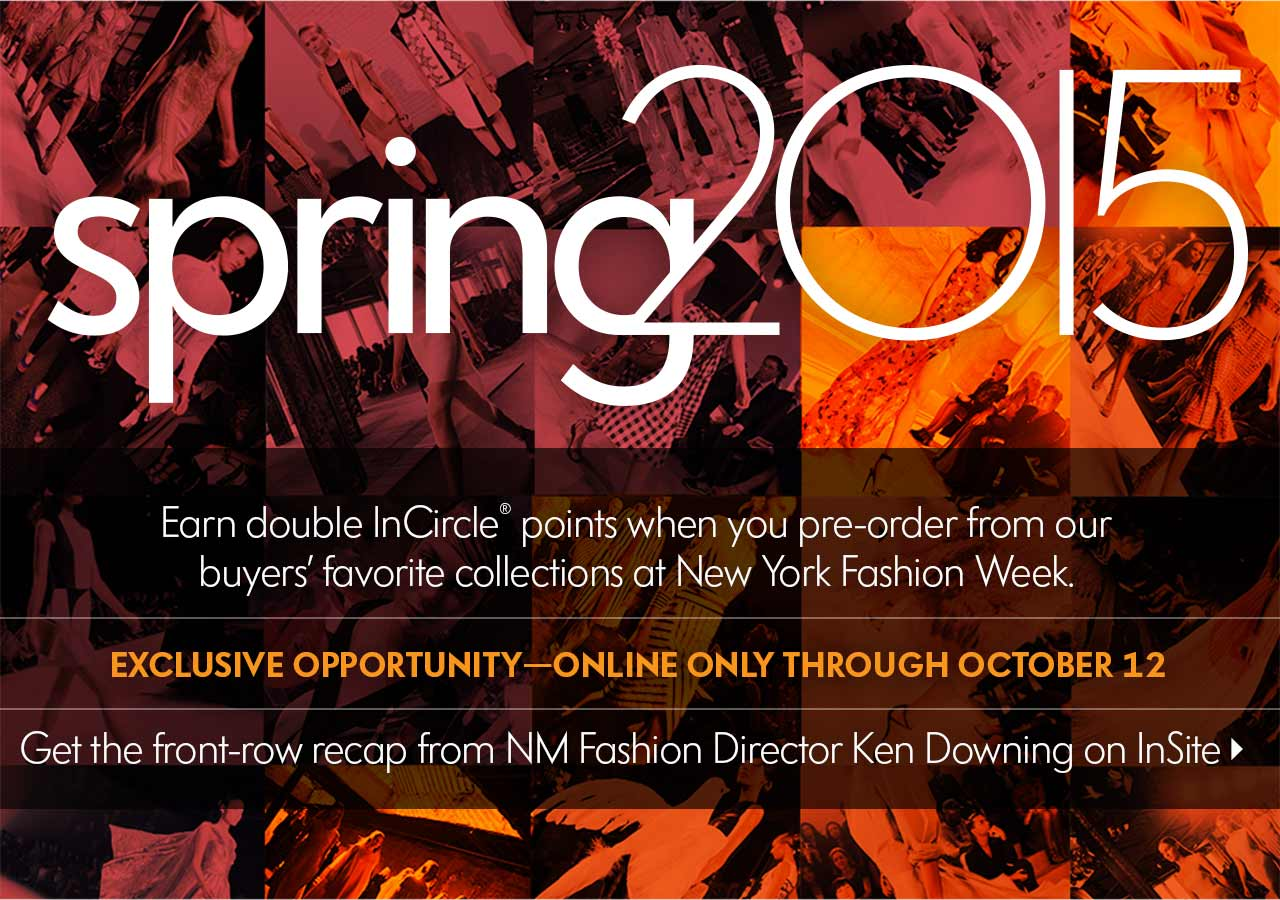 NYFW Spring 2015 Preview + INC Points