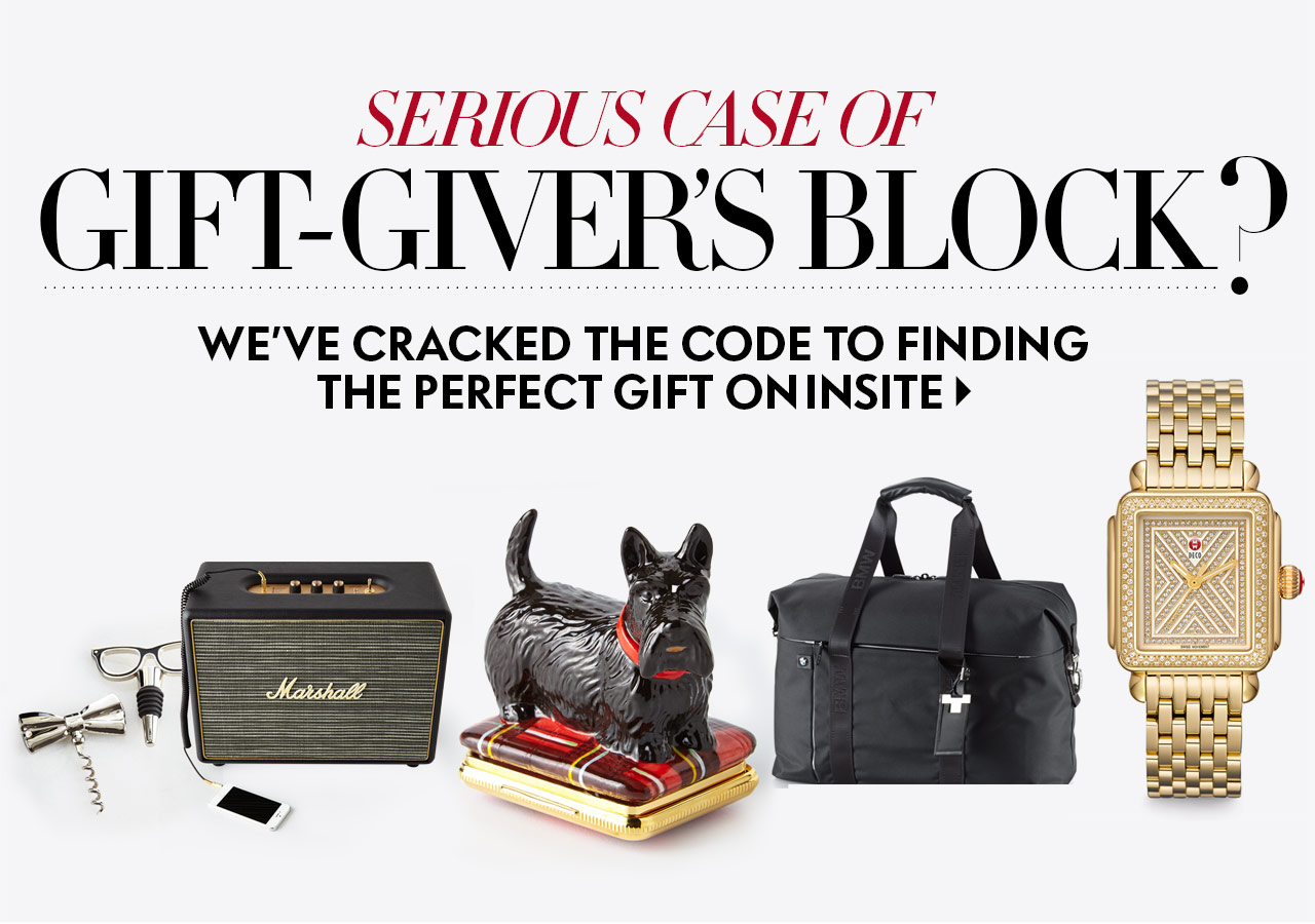 Find the Perfect Gift on InSite