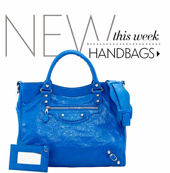 New this week: handbags