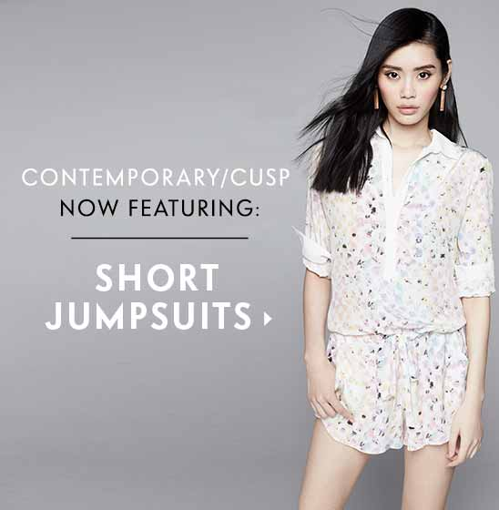 Contemporary Cusp Short Jumpsuits