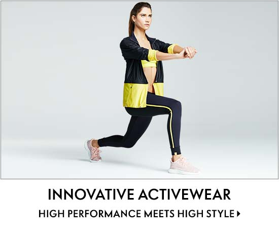 Innovative activewear high performance meets high style