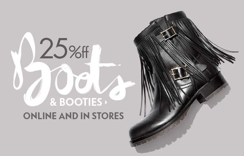 BOOTS SALE