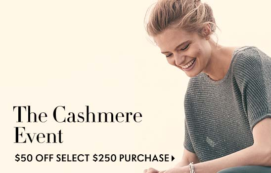 Cashmere gift free top with purchase